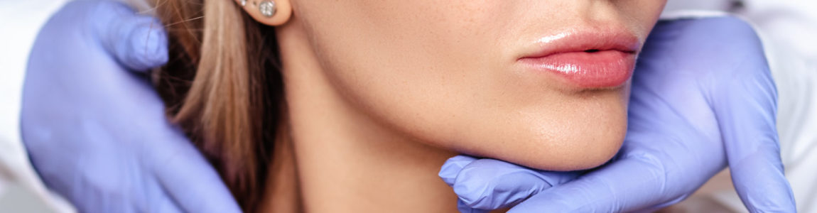 Lippenmodellage